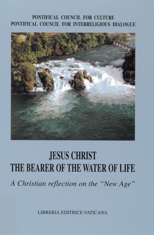 Jesus Christ, The Bearer of the Water of Life