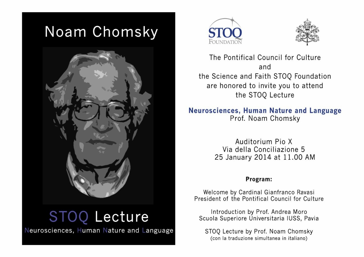 The 2014 Stoq Lecture